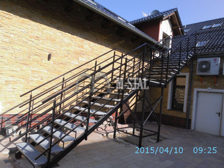 KS007 - Schody przeciw pozarowe - Hotel Roza Kamieniec Wroclawski 1