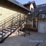 KS007 - Schody przeciw pozarowe - Hotel Roza Kamieniec Wroclawski 2